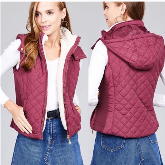 eb62409868 Active USA Jackets & Coats | 30 Off 2more Quilted Padded Vest Whood ...
